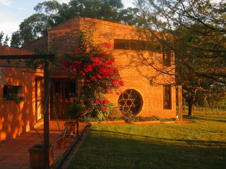 "Room ""El Benteveo"" on a farm set among vineyards"