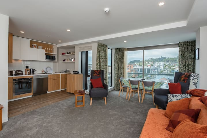 Brand New Apartment in Central Wellington