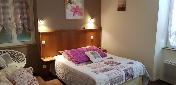 Hotel Au Bosquet Fleuri- Chambre Coton