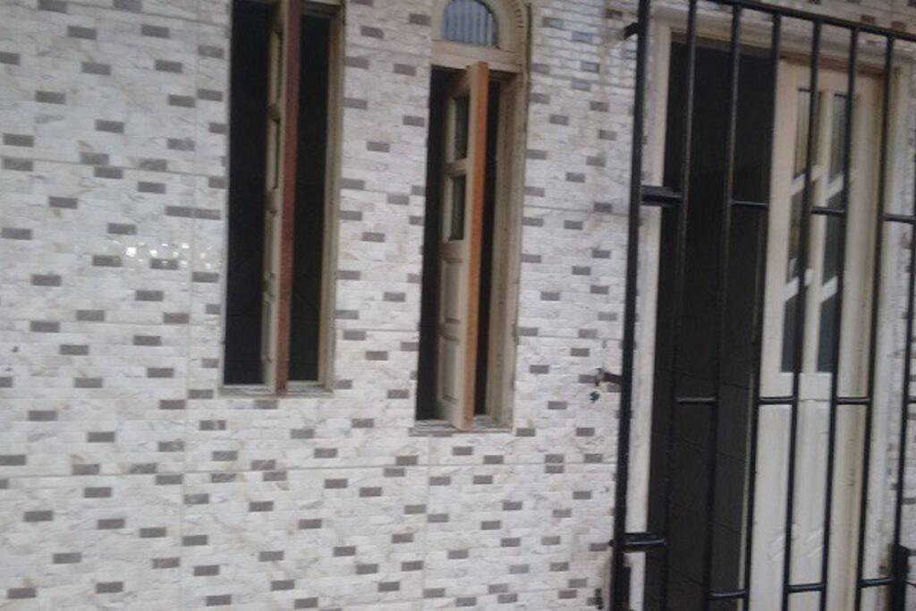 Fachada da casa - parte externa
