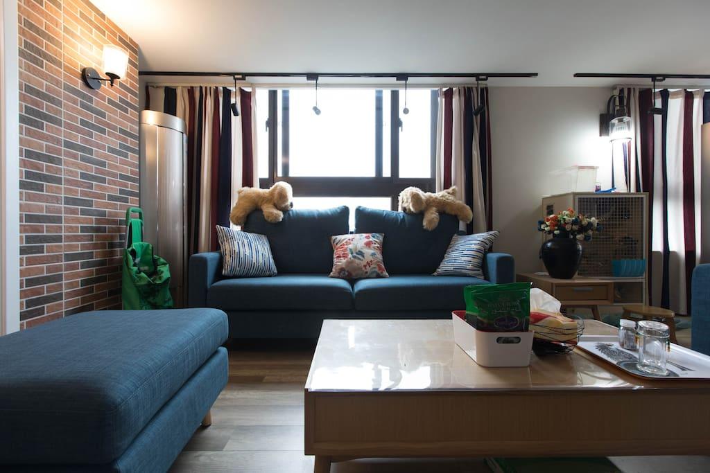 超大客厅Living room