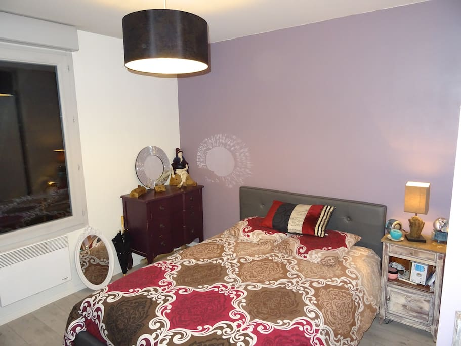 Photo 2 chambre avec lit de qualité (très bon matelas)