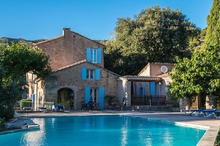Holiday home in ancient masonry, Provence -Treille - Bédoin - Casa