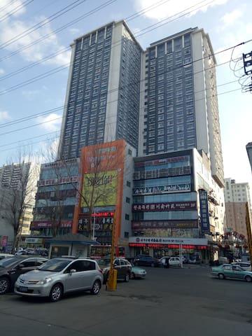 【延吉市大洲运动城民宿(B座)】简约现代风格,繁华角落下的小幸福 - Yanbian Chaoxianzuzizhizhou - Appartement