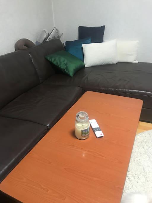 Your comfy sofa