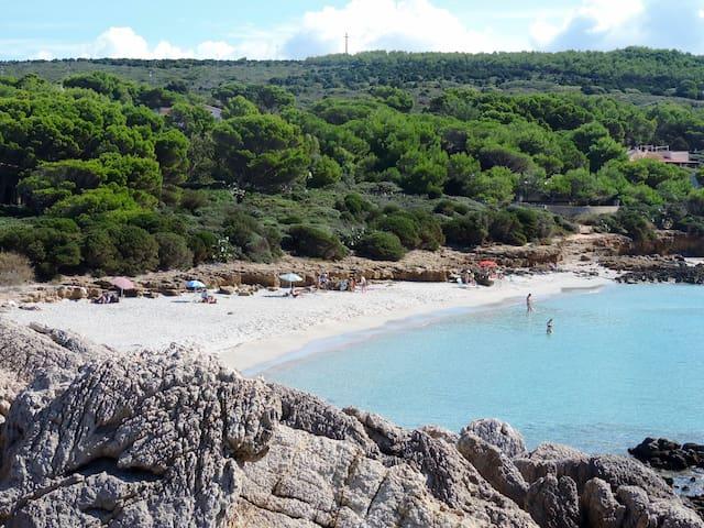 Trilocale indipendente in villa vicino spiaggia
