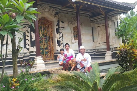 Family Compound in Remote Bali Honey Farm