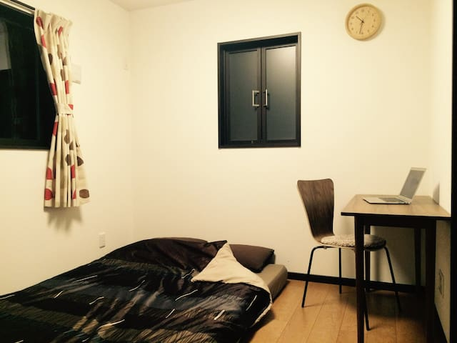 Safe suburb between Tokyo & Narita Airport, room2 - Inzai-shi - Rumah
