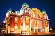 5 mins walk to Osaka city central public hall