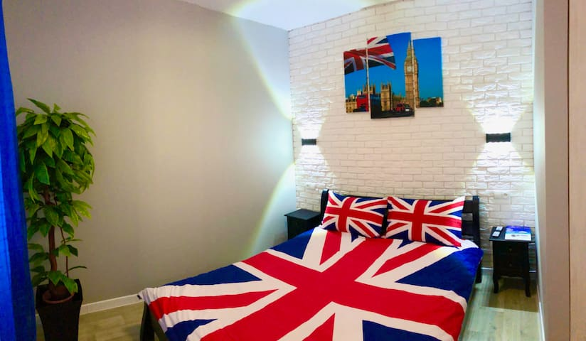 "Уютная квартира-студия в стиле ""LONDON"""