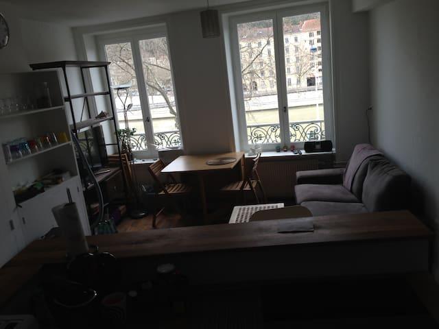 Joli 3 pièces vue sur Saône - Lyon - Apartment