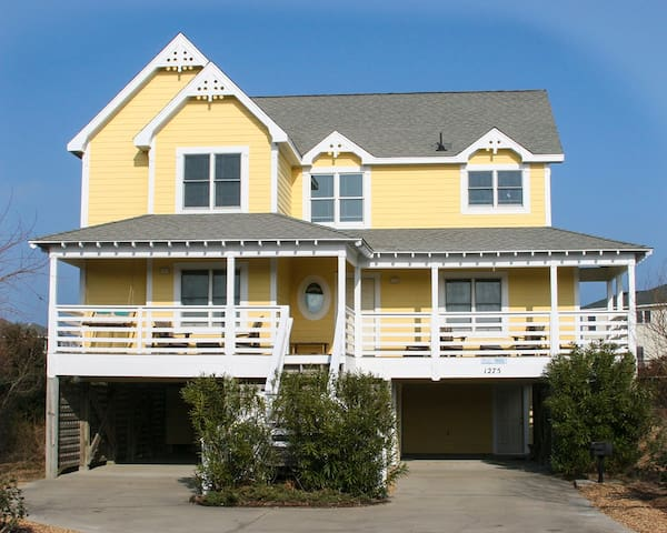 Beautiful Corolla beach house -just off ocean! - Corolla - Vacation home