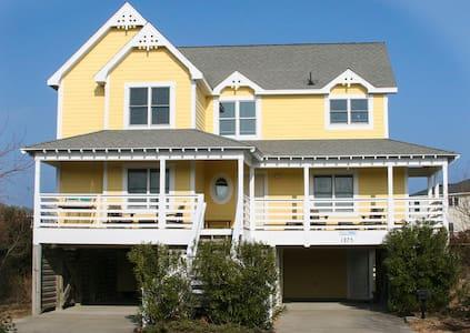 Beautiful Corolla beach house -just off ocean! - Corolla - Loma-asunto
