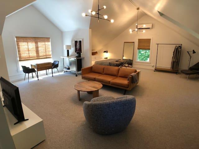 Luxury Loft Apartment in Rhinebeck
