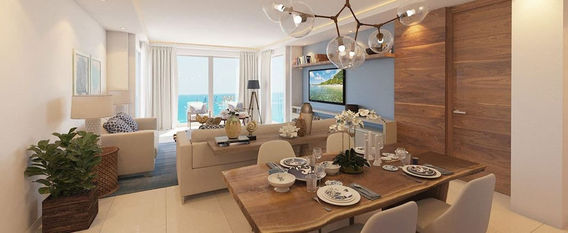 CABARETE 1 BED IMPERIAL OCEANFRONT! COME RELAX