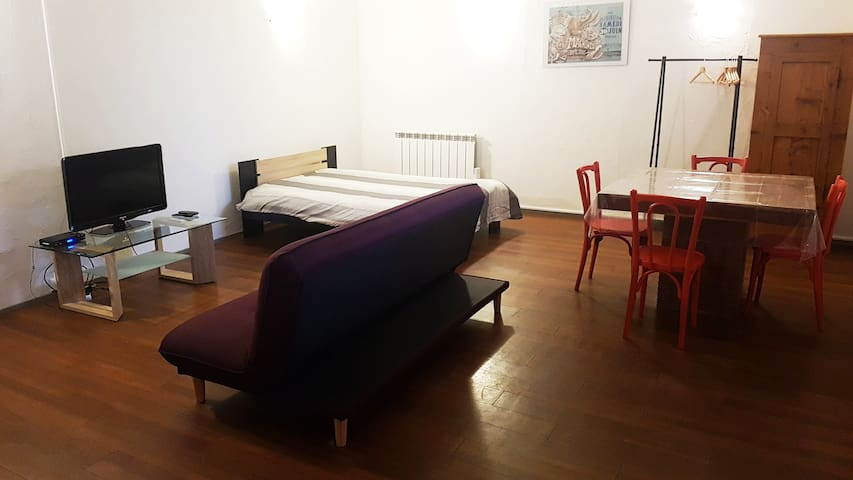LARGE STUDIO NEAR VIA RHÔNA