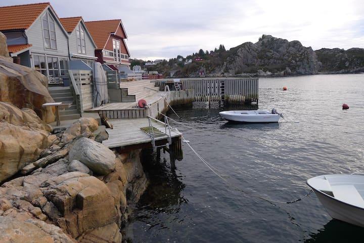 Flott Rorbu på Telavåg - Sund - Kulübe