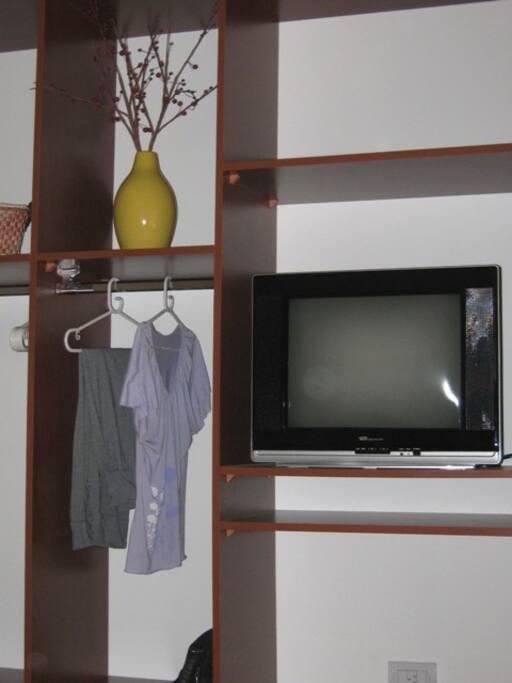 Gran espacio para guardado de ropa