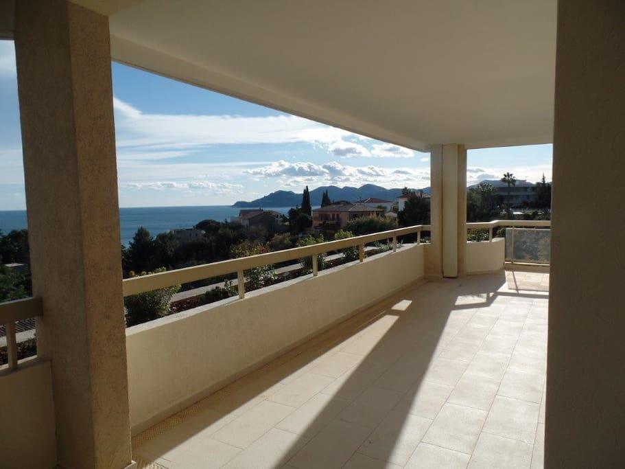 Magnifique terrasse de 55m²