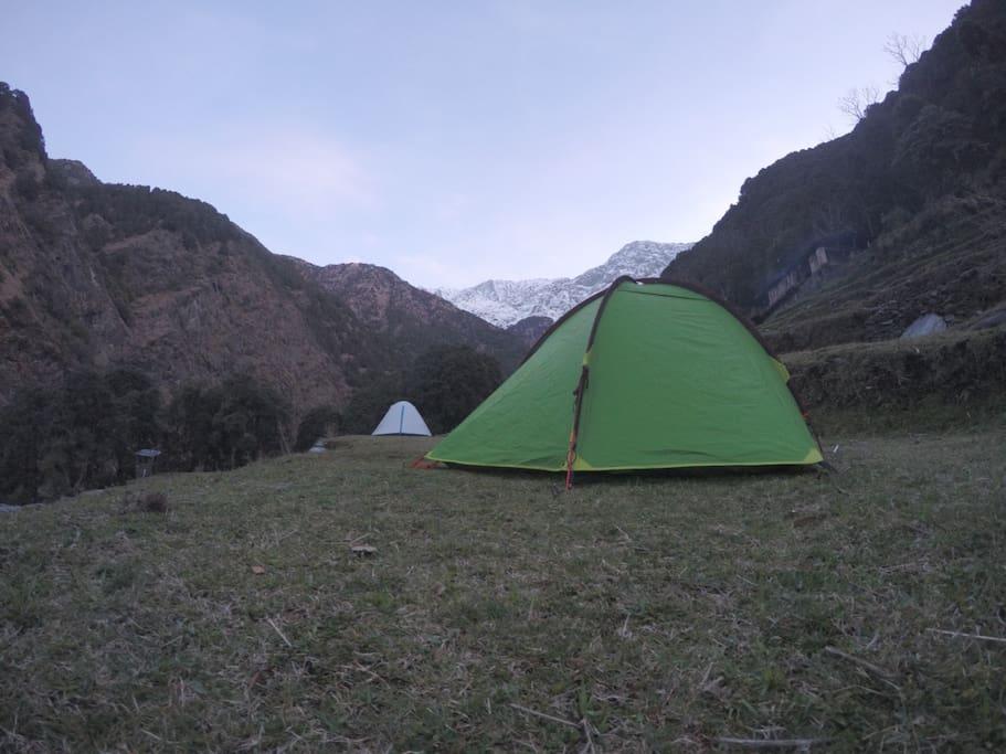 Camping Ground, Bhagda