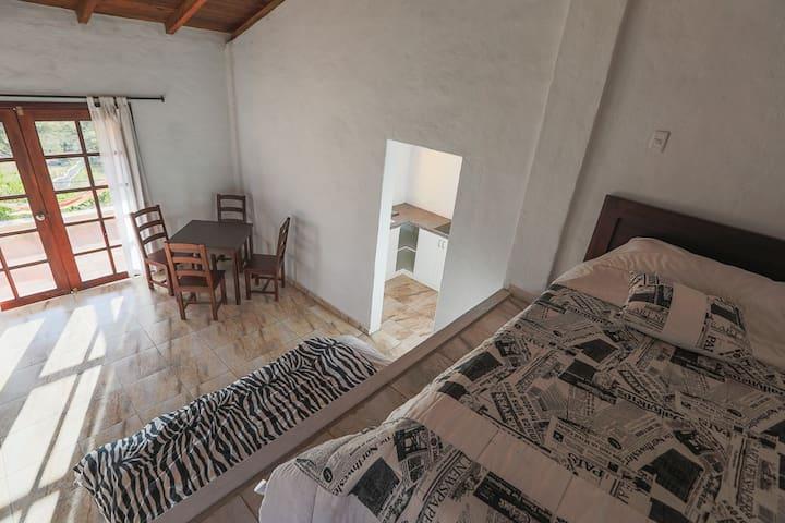 "Cabin ""La Naranja"" with a stunning view"