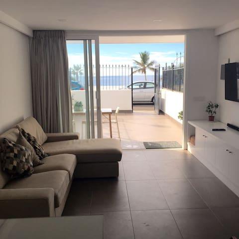 Sea view apartment (beach) - Tías