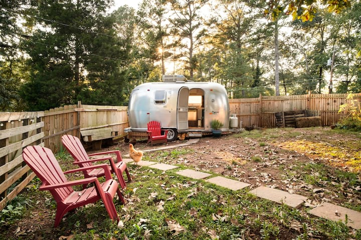 Petunia, the Beautifully Renovated 1969 Airstream
