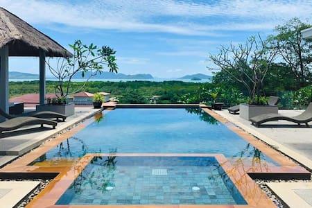 Eastern islands panoramic sea view pool villa!