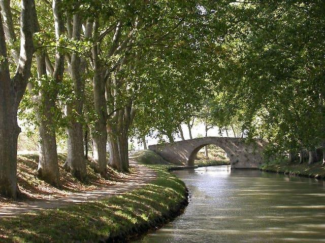 pont canal Villepinte