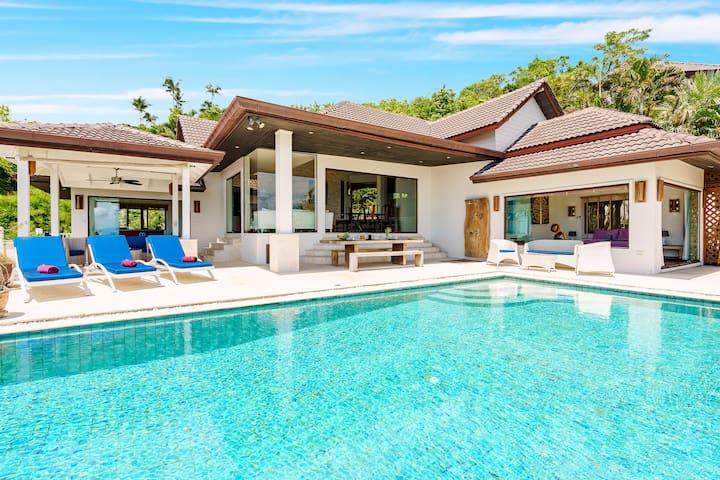 BOPHUT - Amazing pool villa seaview 3 bedrooms