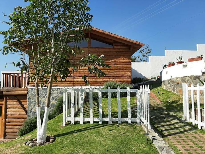 Cabaña acogedora en Finca El Bucaré