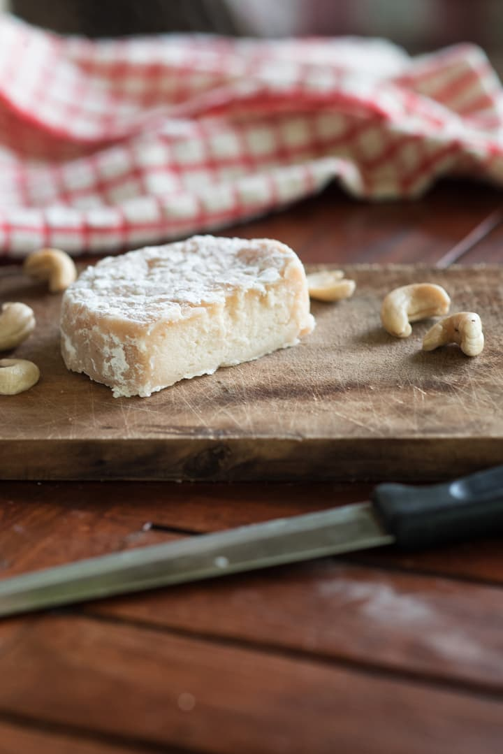 Aged Cashew Cheese