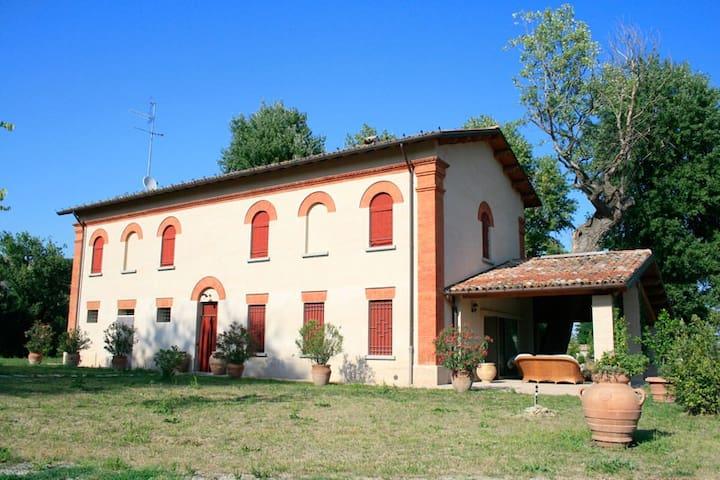 "Villa Mongardi - Camera ""Cecilia"" - Riolo Terme - Wikt i opierunek"