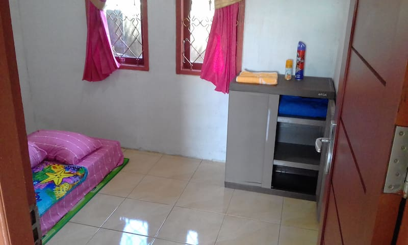Home for backpacker in Sorong City.