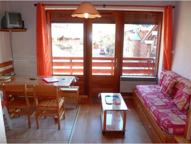 LES SAISIES CHALET CROCUS APPARTEMENT+ MEZZANINE - Hauteluce - Apartament
