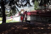 Il parco giochi...