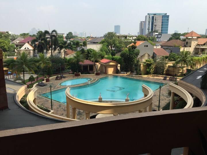 Entire apartment in best location SCBD, Jakarta