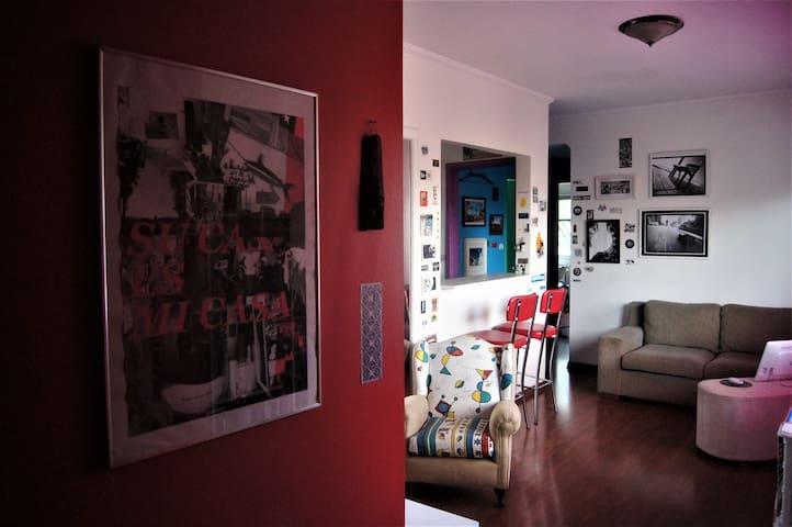 Cozy and lightfull apartment in Vila Madalena