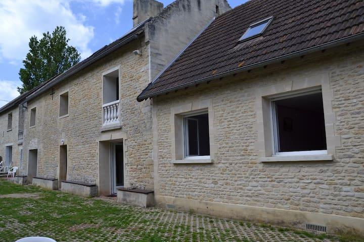 GITE MARGUERITE AU CALME - Graye-sur-Mer - Wohnung