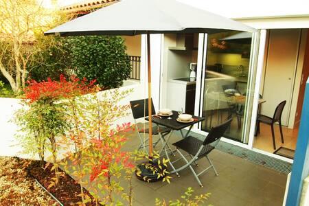 STUDIO MODERNE FACE AU LAC D' HOSSEGOR AVEC WIFI - Soorts-Hossegor - 公寓