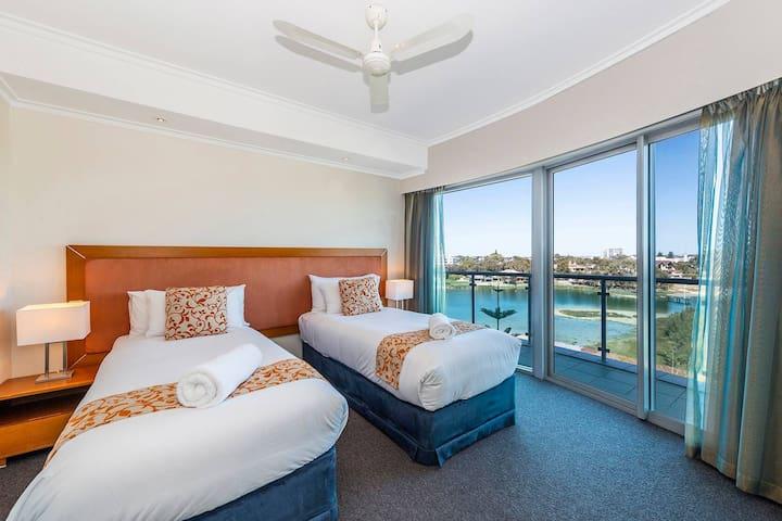 Second Bedroom - 2 single beds