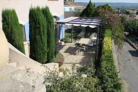 Rez Jardin-Villa P2 35m2_entre NIMES_CEVENNES_MER