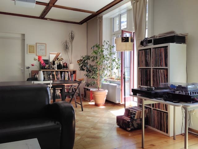 Calm and bright city-center flat with balcony - Bienne - Wohnung