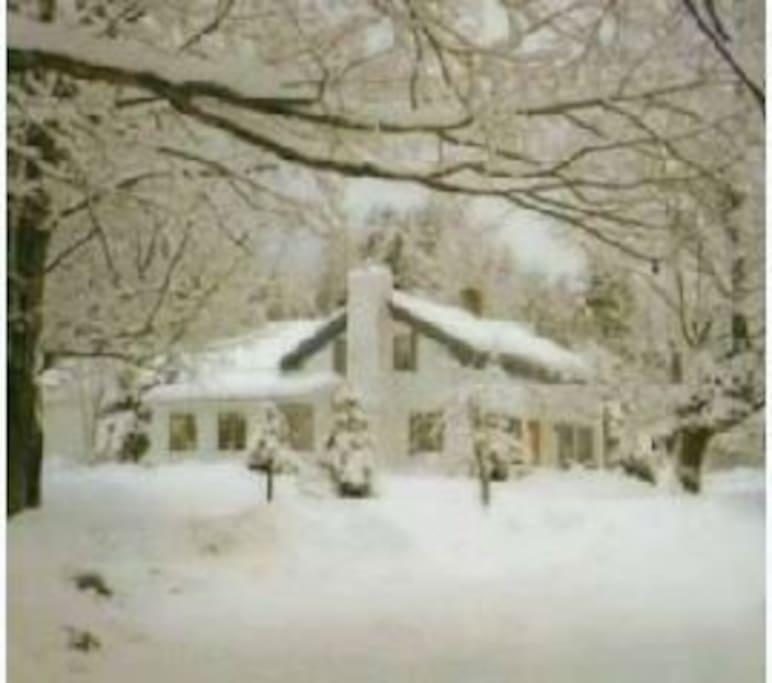Winter in Vermont is Divine