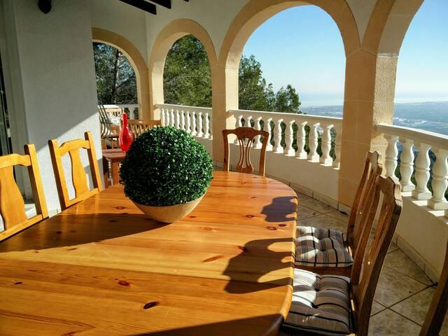 Apt 1 - VILLA/Casa OLIVA Tossal Gros súper vistas - Oliva, Comunidad Valenciana, ES - Villa