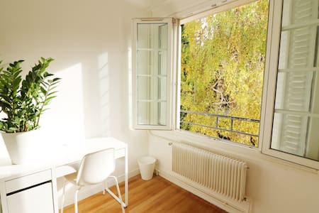 Chambre cosy direct CDG / GARE DU NORD / PARC EXPO