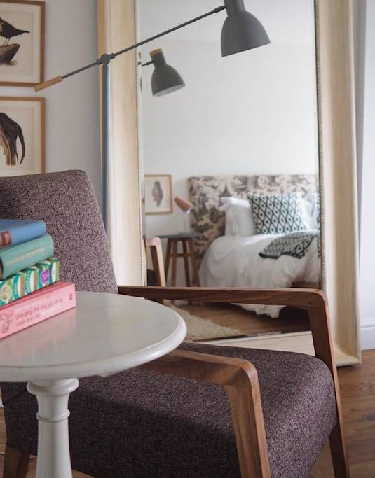 Chair and Mirror