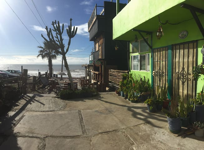1st Floor Ocean Front Furnished Apart,,اهلا وسهلا - Tijuana - Apartament