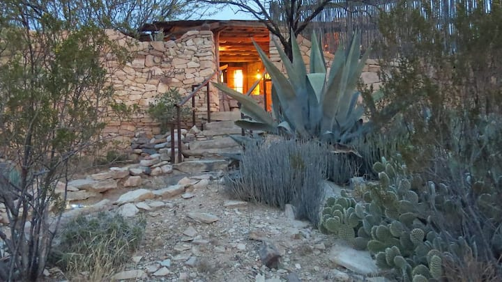 Casa Mariposa: Restored Rock Ruin in Ghost Town