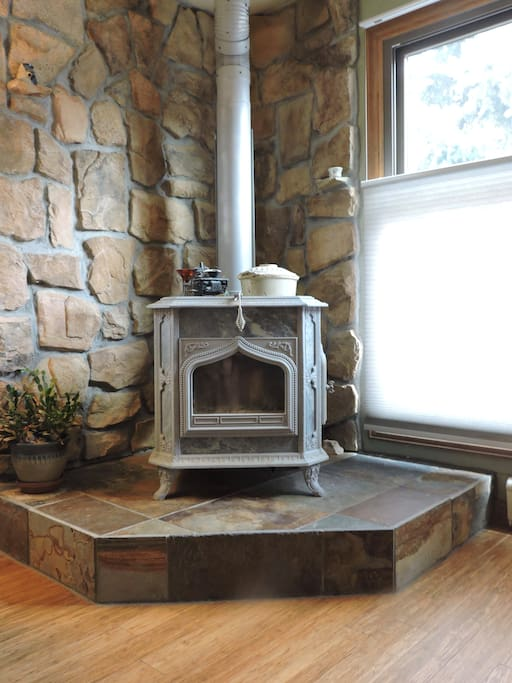 Our soapstone stove